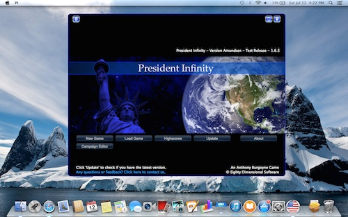 President Infinity for Mac