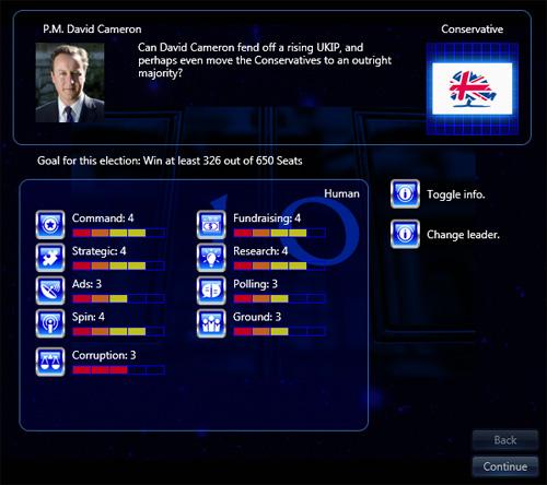 Prime Minister Infinity - U.K. - Leader Info Detail