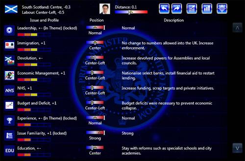 Prime Minister Infinity - U.K. - Platform Screen