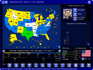 In 2012, Romney's path to the nomination must go through Gingrich territory.