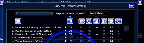Strategic Screen Momentum Column